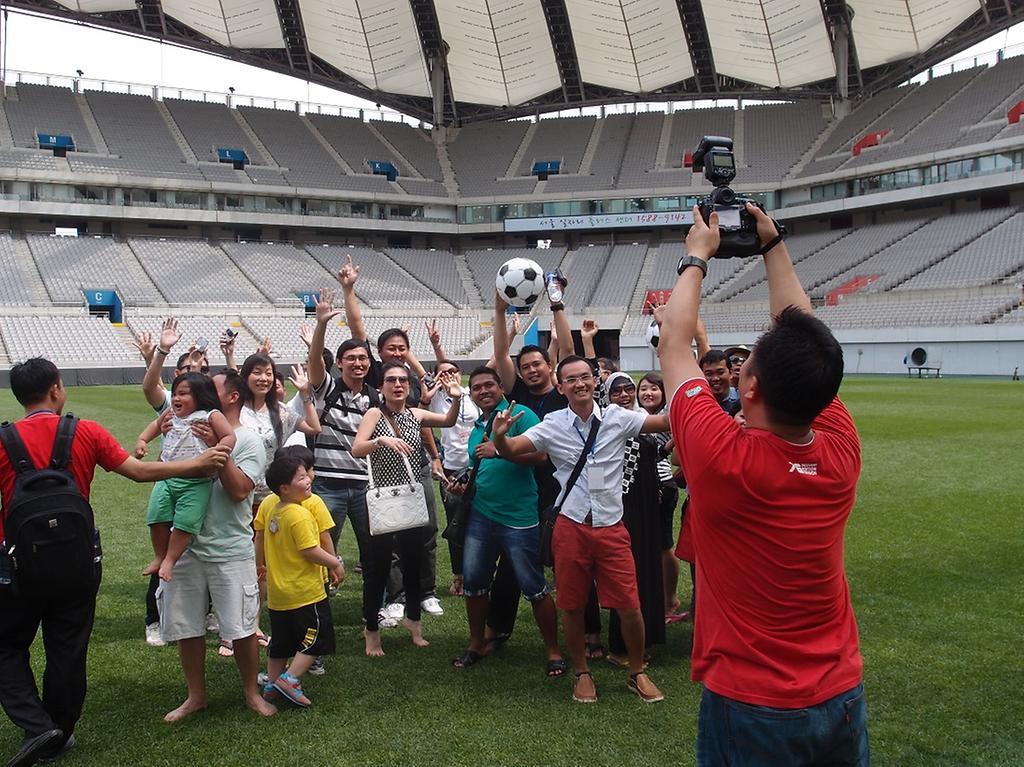 잔디야 놀자 참여자 단체 사진